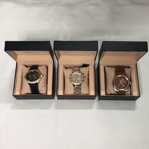 EMPORIO bundle of 3 men's watches